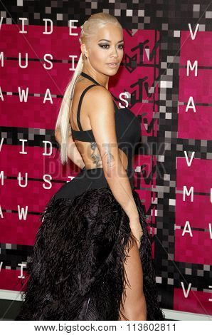 Rita Ora at the 2015 MTV Video Music Awards held at the Microsoft Theatre in Los Angeles, USA on August 30, 2015.