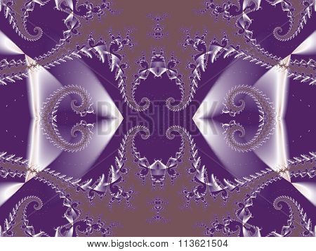 Fabulous Background. Satin Pattern With Spirals. You Can Use It For Invitations, Notebook Covers,