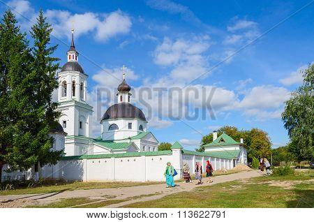 Michael The Archangel Church In Lazarevo Near Murom, Russia