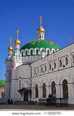 Kiev, Ukraine: March, 2014 - Historic monumet, ancient Kiev-Pechersk Lavra, Kiev Ukraine