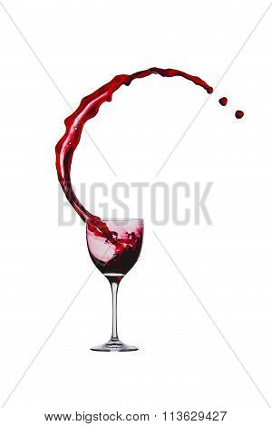 Splash Of Red Wine