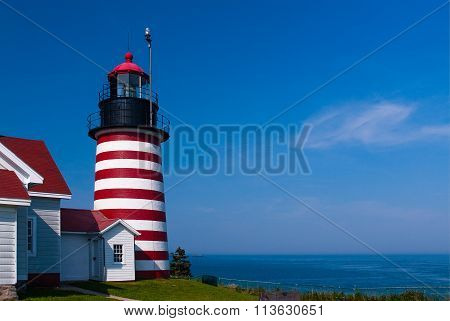 West Quoddy Head Lighthouse Is Most Unique Beacon