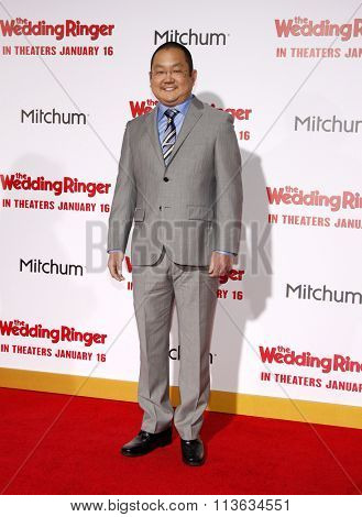 Aaron Takahashi at the Los Angeles premiere of