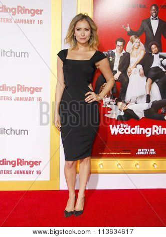 Ashley Jones at the Los Angeles premiere of