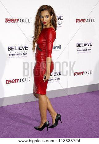 Jessica Jarrell at the World Premiere of