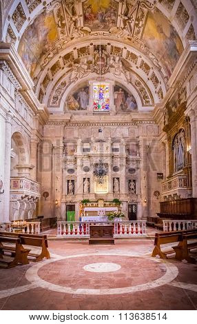 San Biagio Church In Montepulciano, Italy