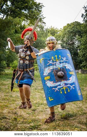 tment Of The Roman And  Dacian (thracian) wars