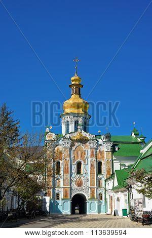 Kiev, Ukraine: September, 2015 - Ancient beautiful historical monument Kiev-Pechersk Lavra, Kiev Ukraine