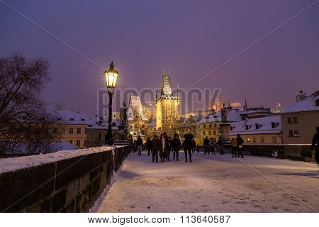 Charles Bridge Lesser Town Tower