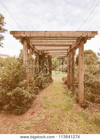Garden Arbour Vintage
