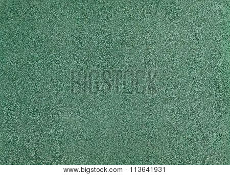 Horizontal Texture Of Green Tarmac Floor Texture Background