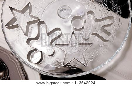 Star And Ginger Bread Man Cookie Cutters