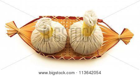 Pouches, A Basket