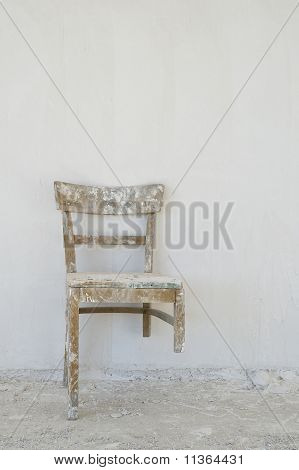 Old Broken Chair At
