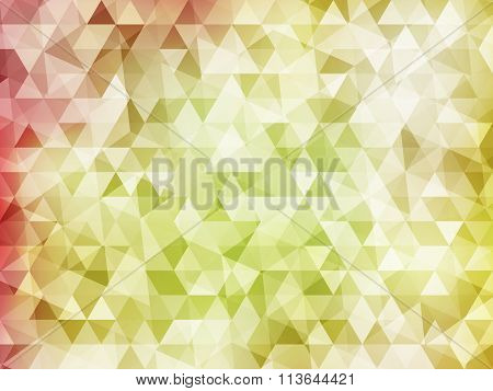 Abstract  mosaic polygon vector eps 10 background colorful