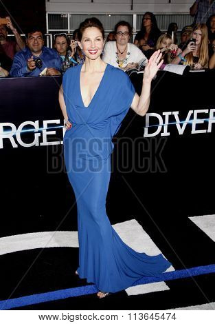 Ashley Judd at the Los Angeles premiere of