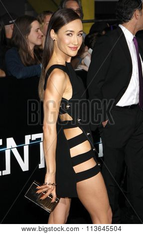 Maggie Q at the Los Angeles premiere of