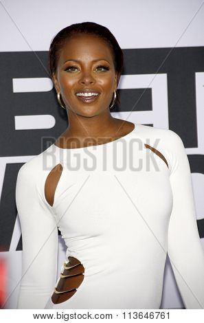Eva Marcille at the 2014 BET Awards held at the Nokia Theatre L.A. Live in Los Angeles, USA on June 29, 2014.