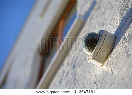 Exterior Surveillance Camera