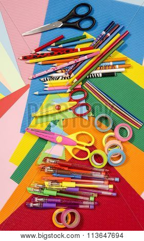Arts And Craft Supplies.