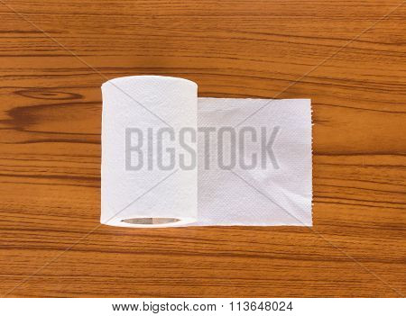 Tissue on the table