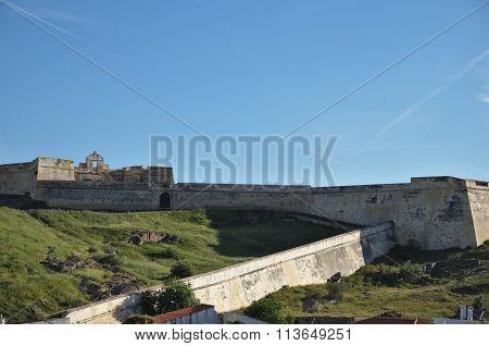 Saint Sebastian Fort in Portugal