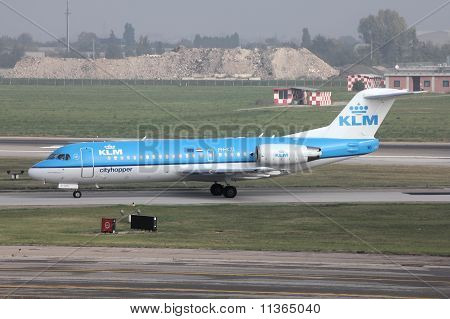 Klm Fokker 70