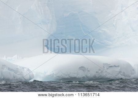 Blue Iceberg Textures, Antarctica