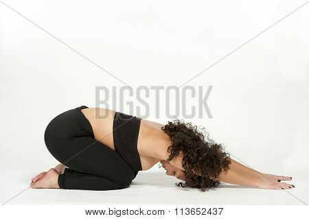 Child's Pose Yoga Balasana