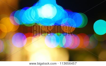 Bokeh background for a background and texture