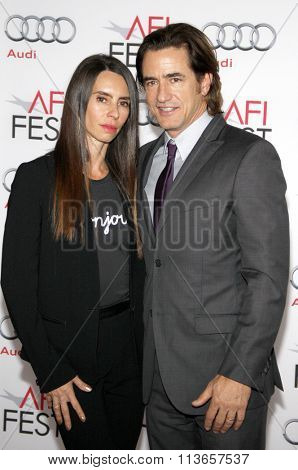 Dermot Mulroney and Tharita Cesaroni at the AFI Fest 2013 Gala Screening of