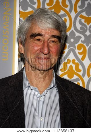 Sam Waterston at the Los Angeles premiere of HBO's