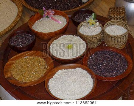 Rice Food In Bowl