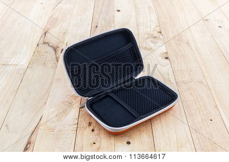 External Hard Drive Carrying Case.