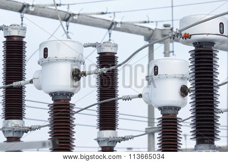 Power Substation Detail, High Voltage Isolation