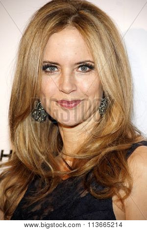 Kelly Preston at the 11th Annual Living Legends Of Aviation Awards held at the Beverly Hilton Hotel in Los Angeles, California, United States on January 17, 2014.