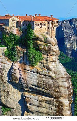 The Holy Monastery Of Varlaam. Trikala, Greece