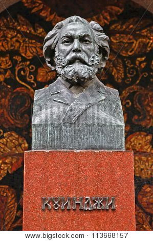 Tomb Of The Famous Painter Arkhip Kuindzhi