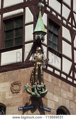 Albrecht Duerer's House In Nuremberg, Germany, 2015