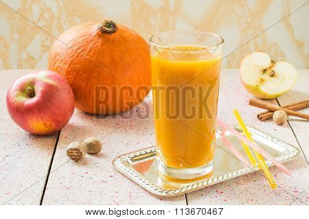 Smoothies Pumpkin And Apple