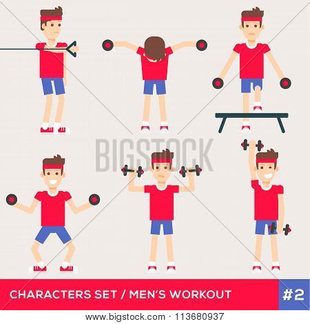 Fitness Characters 2