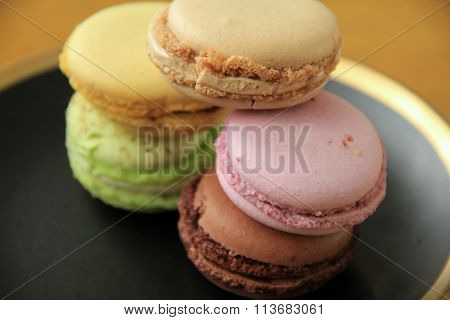 Five flavors of macaroons
