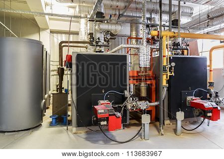 Industry boiler gas burner