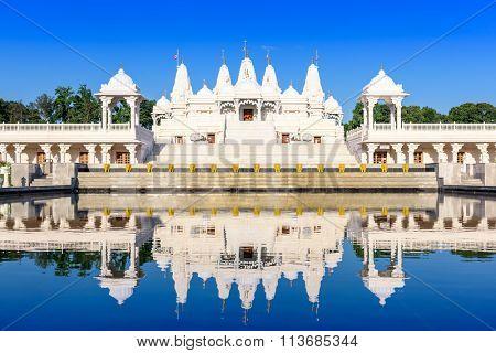 Hindu Temple in Atlanta, Georgia.