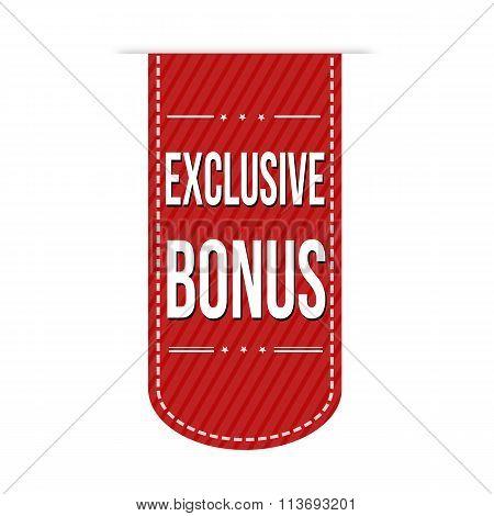 Exclusive Bonus Banner Design