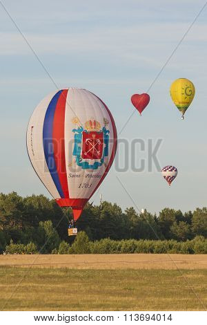 International Teams Participating in Air-Balloons International Aerostatics Cup