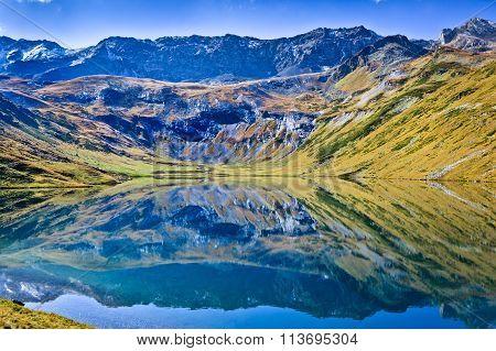 Mountain Lake Like The Mirror
