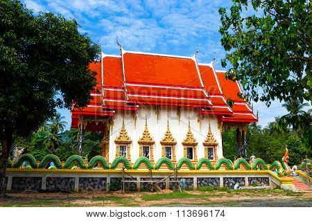 Wat  Salakphet - The Temple In Thailand, Ko Chang Island