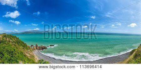 Nha Trang Bay in late summer