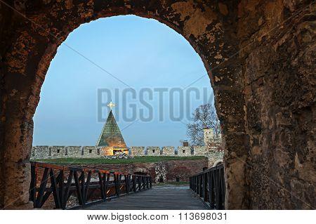 Kalemegdan Fortress In Belgrade Serbia
